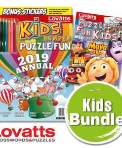 Puzzle Fun for Kids Magazine 12 Month Subscription