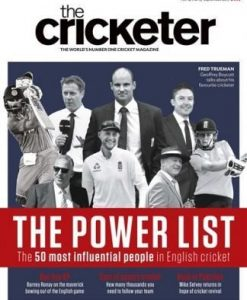 The Cricketer (UK) Magazine 12 Month Subscription