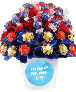 I'm Sorry For Your Loss Medium Chocolate Bouquet