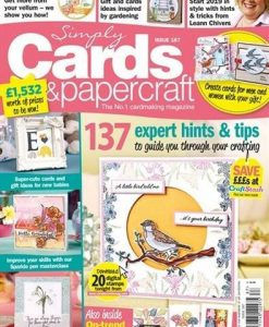 Simply Cards & Papercraft (UK) Magazine 12 Month Subscription