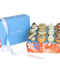 Halloween Donut and Strawberry Gift Box