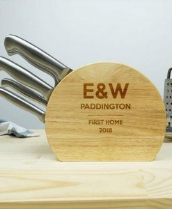 Personalised 5pc Stainless Knife Set