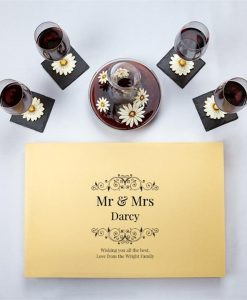 Personalised Daisy Wine Decanter Set