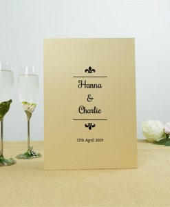 Personalised Frog Crystal Champagne Flutes