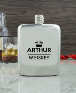 Gentlemen's Contemporary Hip Flask