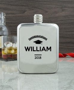 Graduation Contemporary Hip Flask