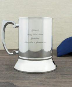 Engraved Traditional Tankard