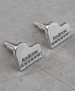 Piano Personalised Cufflinks