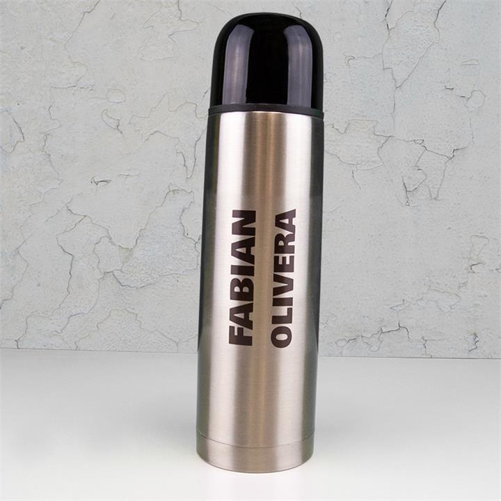 Names Silver Thermal Flask