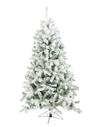 Dawn Snow Flocked Christmas Tree - 1.8m