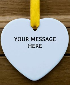 Message From The Heart Ornament