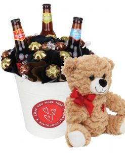 Valentine Craft Beer Chocolate Bouquet Large