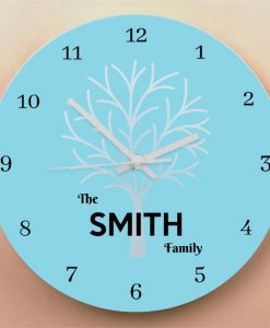 Family Tree Wall Clock