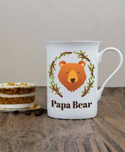 Personalised Bear Bone China Mug