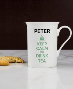 Keep Calm Bone China Tea Mug