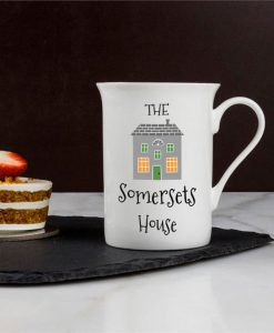 Our House Personalised Bone China Mug