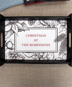 Personalised Christmas Serving Tray