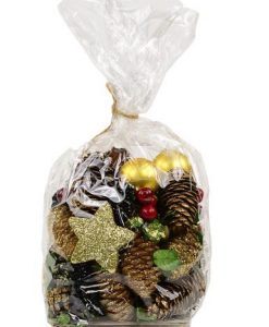 Bag of Assorted Decorative Pine Cones