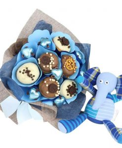 Baby Boy Donut Bouquet