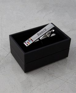 Coloured Personalised Tie Bar