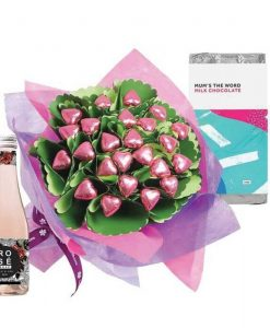 With Love Rose Piccolo & Choc Block Bouquet