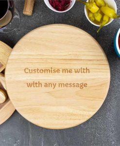 Any Message Personalised Cheese Board Set