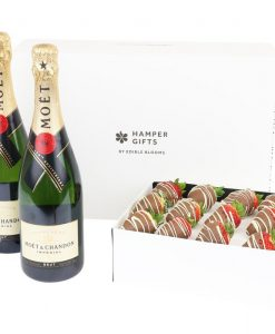 Ultimate Champagne & Dozen Choc-Dipped Strawberries