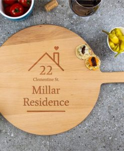 Home Personalised Wooden Cheese Board