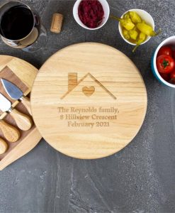 Homely Custom Cheese Board Set