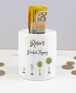 Personalised Pocket Money Box