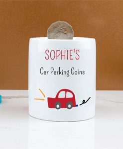 Personalised Car Parking Money Box