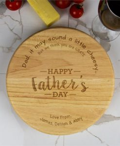 Father's Day Personalised Cheese Board