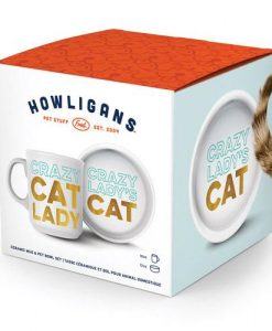 Crazy Cat Lady Bowl and Mug Set