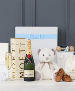 Sheridan Bear & Moët Boy Hamper