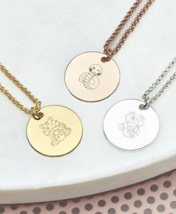 Personalised Zodiac Charm Necklace
