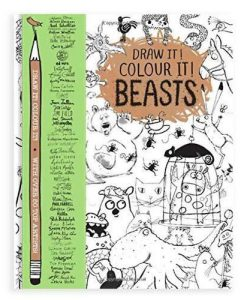 Draw it! Colour it! Beasts Book
