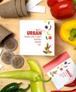 Urban Greens Some Like it Hot Pepper Grow Kit