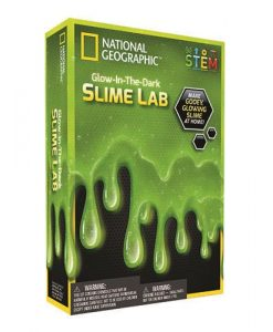 National Geographic Glow in the Dark Slime Lab | Green