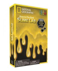 National Geographic Glow in the Dark Slime Lab | Yellow