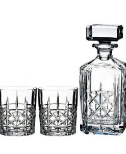 Waterford Brady Crystal Decanter Set