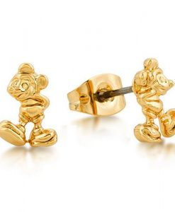 Disney Junior Mickey Mouse Gold Stud Earrings