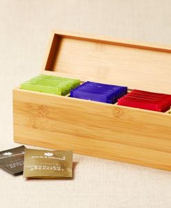 Leaf & Bean Bamboo Tea Box