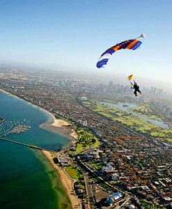Melbourne's Only Beach Skydive