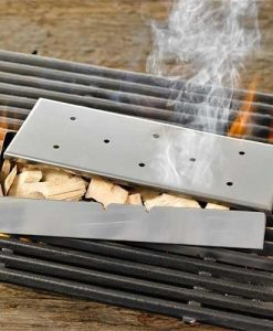 Wood Chip Smoker Box in Stainless Steel