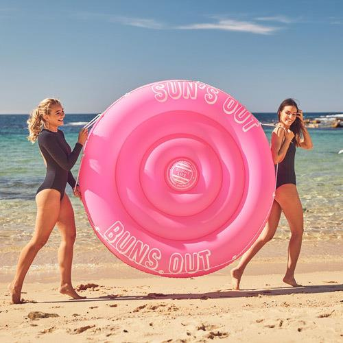 Sunnylife Suns out Twin Float Neon Pink