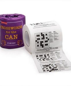 Crossword for the Can Toilet Roll