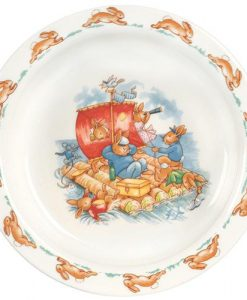 Bunnykins Baby Plate by Royal Doulton