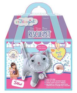 Rescue Kitty Cat DIY Sewing Kit