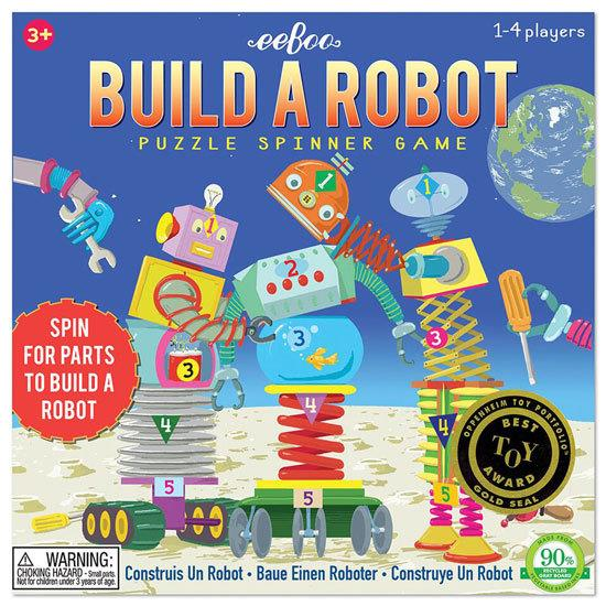 Build a Robot Spinner Game