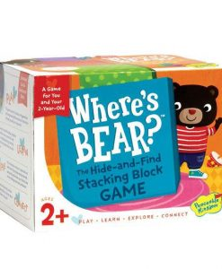 Where's Bear? Hide-&-Find Block Game